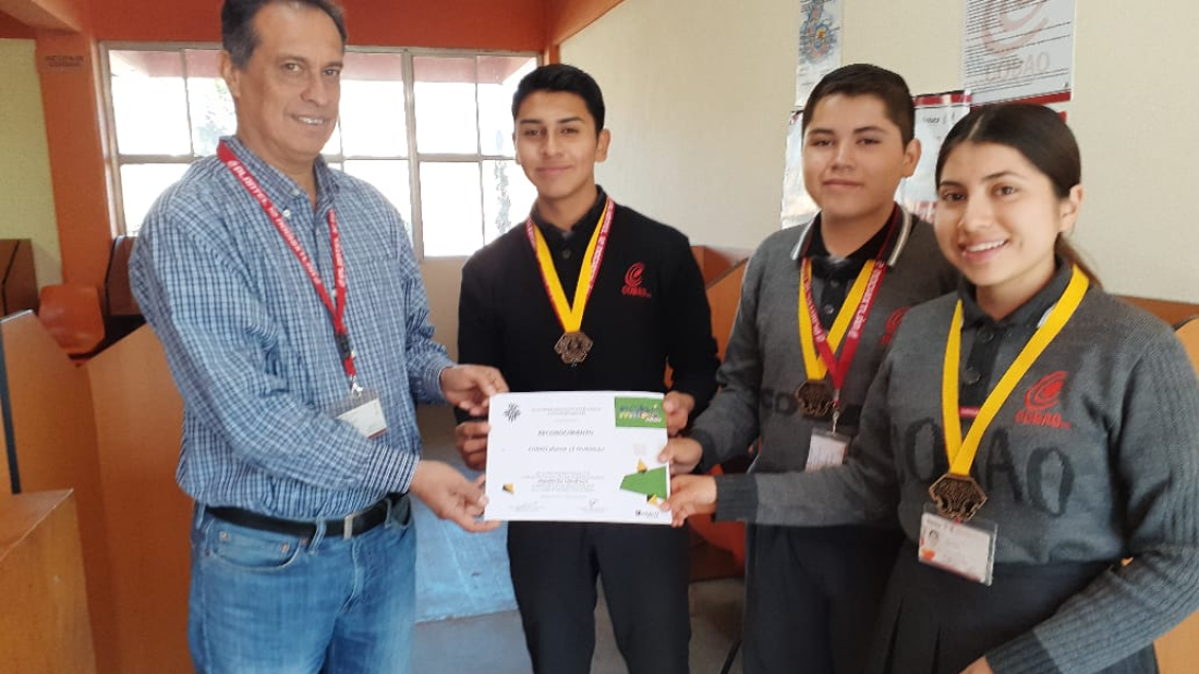 Ganadores del Robomatrix junior